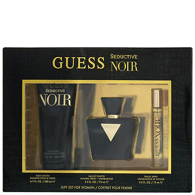 Guess Seductive Noir EDT Spray 75ml Gift Set | Eau De Toilette • 28.33£