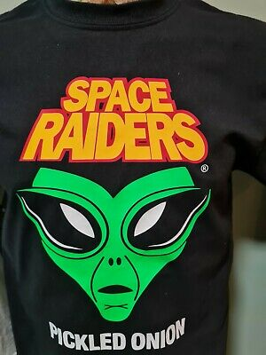 Space Raiders Crisps Tee T Shirt Pickled Onion  • 13.99£