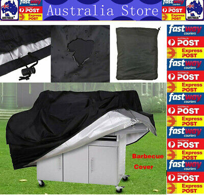 AU16.99 • Buy BBQ Grill Cover 2 Burner Waterproof Garden Charcoal Gas Barbecue Protector 145cm