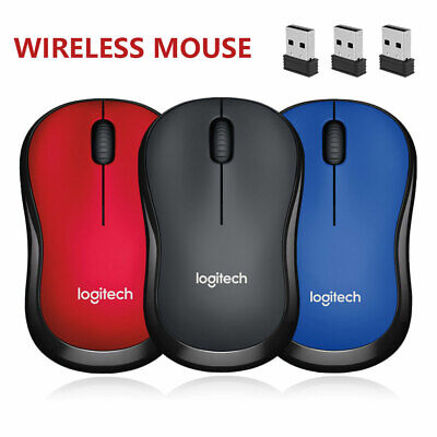 AU16.39 • Buy Logitech Optical Wireless Mouse USB Receiver Gaming Mice For PC Laptop IPad Mac