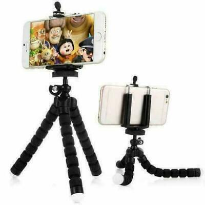 Universal Mini Mobile Camera Phone Holder Tripod Stand Grip For IPhone Samsung • 4.99£