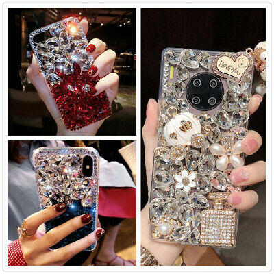 AU9.17 • Buy For IPhone 12 Pro Max XR 8 7 Plus Bling Glitter Girl Women Cute Phone Case Cover