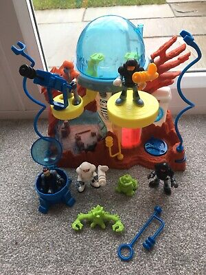 Imaginext Mattel Space Moon Station Playset With 5Figures And Accessories Sci Fi • 19.99£