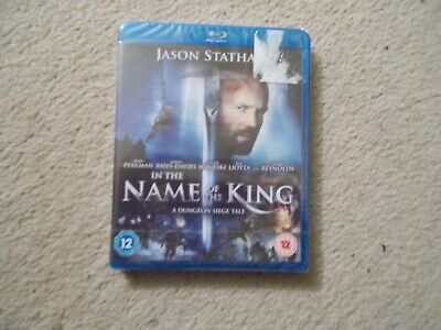 In The Name Of The King - A Dungeon Siege Tale BLU RAY - Jason Statham NEW • 4.29£