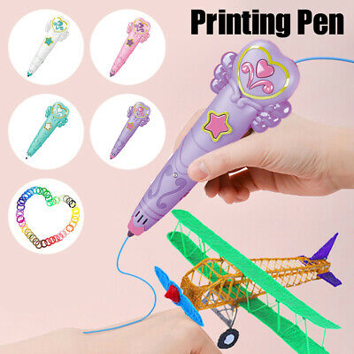 AU22.69 • Buy Kids 3D Printing Pen Crafting Doodle Drawing Art Printer Modeling PLA Xmas Gift