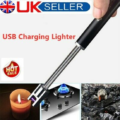 £10.79 • Buy USB Rechargable BBQ Gas Lighter Electric Ignition Outdoor Indoor Kitchen Cooker