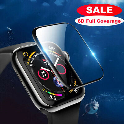 $ CDN3.80 • Buy Screen Protector For Watch IWatch 6 5 4 3 SE 38/40/42/44 Mm Tempered Glass