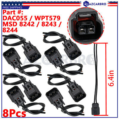 $8.96 • Buy 8x Pigtail Ignition Coil Connector Wireness Plug FOR Ford F-150/250 4.6 5.4 6.8L
