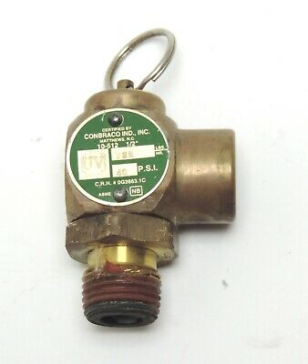 $44.99 • Buy Safety Valve 40 PSI For Midmark Ritter M9 Ultraclave Older Autoclave Parts