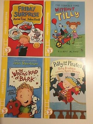 Reading Ladder, Set Of 4 Books, Book Band Gold/ Level 9 • 9.99£