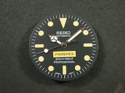 $ CDN74.48 • Buy New Seiko Dial + Hands For Mod Fit SKX007 / 031  7s26  NH36 NH35 4R36 Movement.