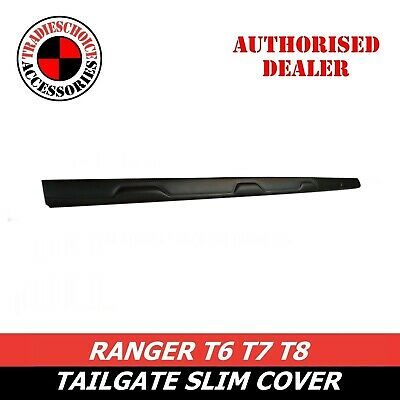 AU74.99 • Buy Black Rear Tailgate Cover Trim For Ford Ranger T6 WILDTRAK PX2 MK1 MK2 2012~2020