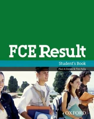 £11.89 • Buy FCE Result Student Book (First Result) Davies, Paul A. And Falla, Tim