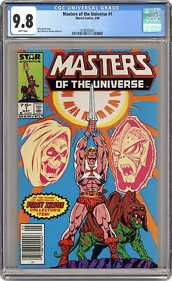 $570 • Buy Masters Of The Universe #1 CGC 9.8 1986 3738353021