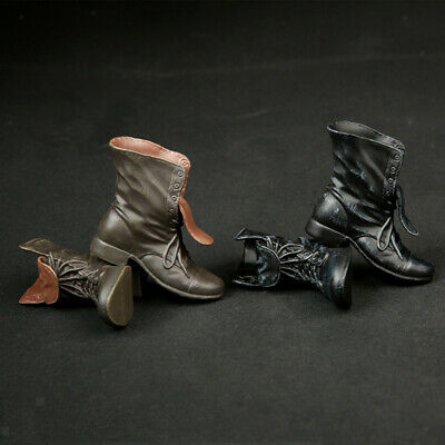$12.37 • Buy 1/6 Scale Man Boots Shoes For Hottoys, Sideshow, Dragon, DID, TTL, Enterbay 12