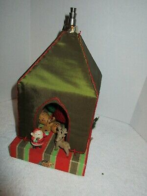 $ CDN6.96 • Buy Vintage Christmas Steeple W/Bells And Figures Holiday Decorations