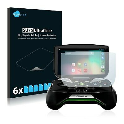 $ CDN6.86 • Buy 6x Screen Protector For Nvidia Shield Portable Plastic Film Invisible Shield