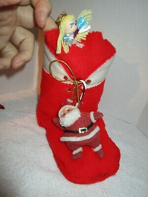 $ CDN9.49 • Buy Vintage Decorated Christmas Lg. Boot Candy Holder Holiday Decorations