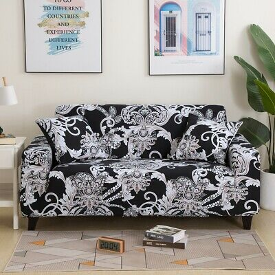 AU29.99 • Buy European Floral Stretch Sofa Couch Cover Lounge Seat Slipcover 1 2 3 4 Seater