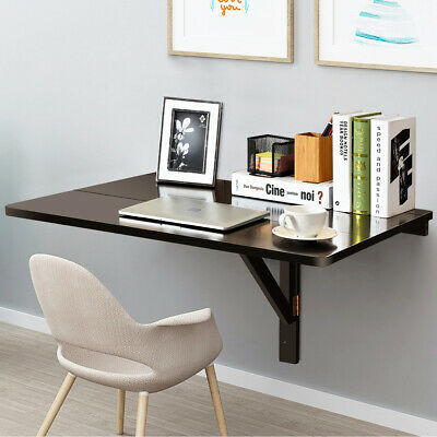 £37.49 • Buy Wooden Folding Wall-mounted Drop-leaf Computer Table Kitchen Desk  Dining Table