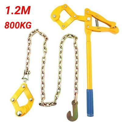 £24.60 • Buy 1.2M Chain Strainer Monkey Cattle Wire Fence Tensioner Pull Stretcher 800KG