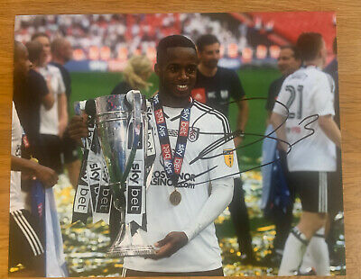 £19.99 • Buy Ryan Sessegnon Hand Signed 10x8 Fulham FC Playoff Final / Trophy Photo Wembley