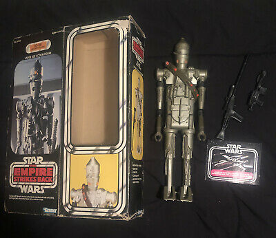 "$ CDN684.64 • Buy Vintage 1980 Kenner Star Wars 12"" IG-88 Bounty Hunter W/Box SEE DESCRIPTION"