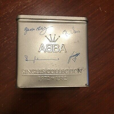 £85 • Buy Singles Collection Special Limited Edition Box Set - ABBA 1972-1982