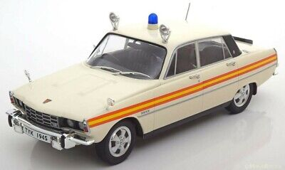 Rover P6 Police Car Classic Diecast Model Good Detail 1:18 Scale Rare Boxed New • 59.99£