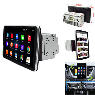 $186.20 • Buy  10.1  2 DIN Android9.1 Car Stereo Radio MP5 Player GPS Touch Screen Mirror Link