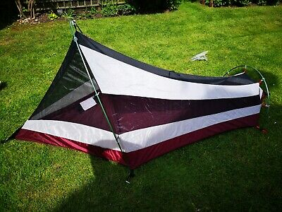 New Condition Kelty 1 Person Bikebacking Backpacking Lightweight Tent 1.6kg • 115.95£