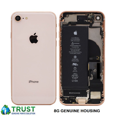 Genuine Apple IPhone 8 & 8 Plus REAR BACK CHASSIS HOUSING WITH PARTS  (A+ GRADE) • 59.99£
