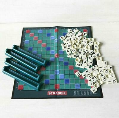 UK Travel Edition Scrabble Children Adult Education Learn Party Game Board Novel • 7.69£