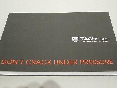 2014 Tag Heuer Watch Catalogue Brochure Jenson Button Steve Mcqueen Lewis  • 33£