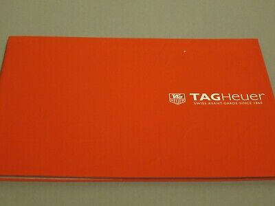 2012 Tag Heuer Watch Catalogue Brochure Jenson Button Steve McQueen Lewis Hamilt • 33£