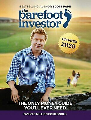 AU23.98 • Buy The Barefoot Investor Book By Scott Pape 2020 Update - Paperback