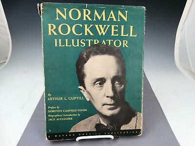 $ CDN57.40 • Buy Norman Rockwell Illustrator By Guptill 1946 1st Ed Signed By Norman Rockwell