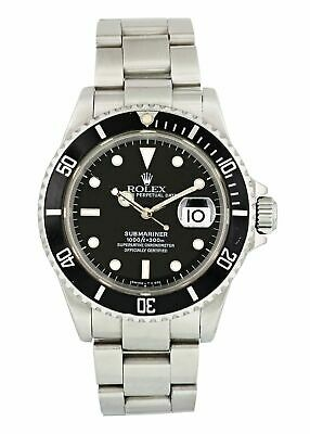 $ CDN11388.23 • Buy Rolex Submariner 16610 Mens Watch