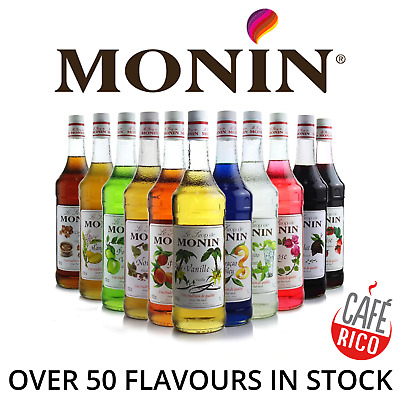 MONIN Syrup For Coffee & Drinks. As Used By Costa & Starbucks. Drink Syrups • 11.49£