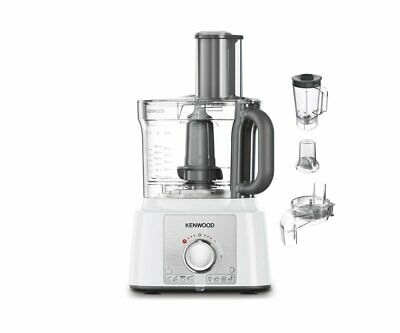 View Details Kenwood FDP65.860WH 1000W 3L Multipro Express Food Processor - White • 124.99£