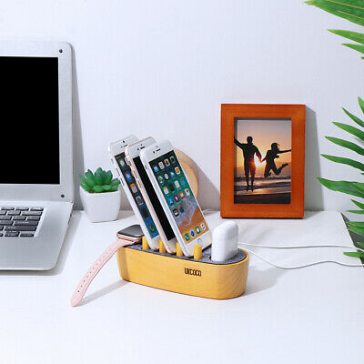 1PC Charging Stand Dock Compatible With IWatch Apple Accessories AirPods IPad • 13.59£