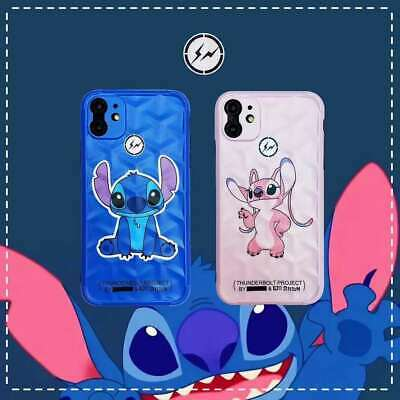 Lilo & Stitch Angie Soft Couple Phone Case Cover For IPhone 7 8 X 11 Pro Max SE2 • 4.20£