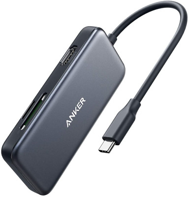 AU52.86 • Buy Anker USB C Hub, 5-in-1 USB C Adapter, With 4K USB C To HDMI, SD And MicroSD 2