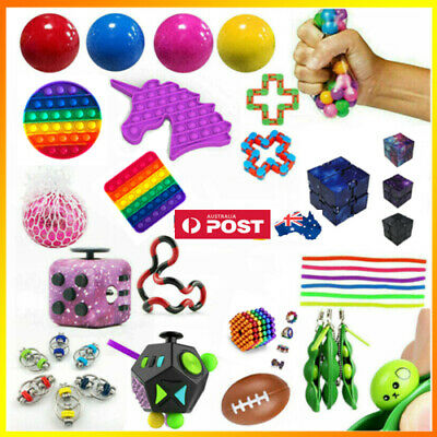 AU9.99 • Buy Fidget Sensory Toy Set Stress Relief Toys Autism Anxiety Relief Kids Gifts