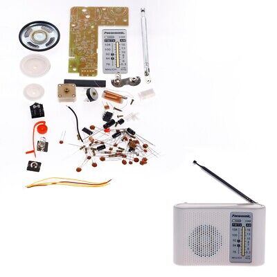 DIY Kits AM FM Radio Receiver Transistor With Case And Speaker Suite • 6.79£