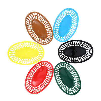£9.99 • Buy 6pcs Serving Baskets Snacks Chip Food French Fries Dish BBQ Party Supplies