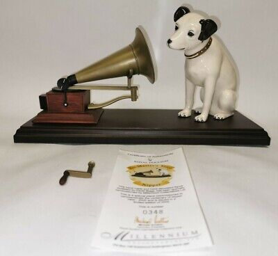 Royal Doulton HMV Nipper Dog And Gramaphone Figurine 348/2000 Limited Edition • 400£
