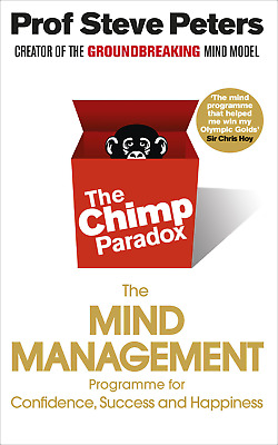 The Chimp Paradox: The Mind Management Programme To Help You Achieve Success, Co • 15.49£