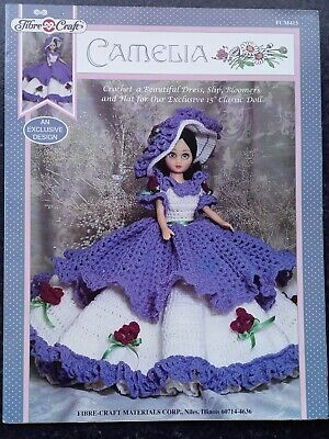 £1.99 • Buy Fibre Craft Fcm 415: Camelia, Crochet Outfit To Fit 15  Classic Doll
