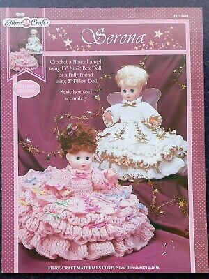 """£1.99 • Buy Fibre Craft Fcm 448: Serena, Doll's Clothes To Fit 13"""" Music Box, Or 8"""" Pillow"""